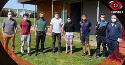 Romain Briffa Avec Avec La Mission D'Accompagnement à La Performance Du CREPS De Bordeaux Et Les Responsables De Pôle.